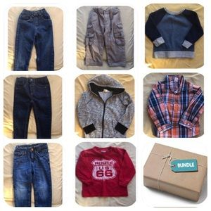 Other - 3 jeans, 1 cargo pant, 3 shirts & 1 hoodie bundle